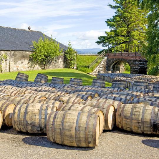 La tradición del whisky escocés