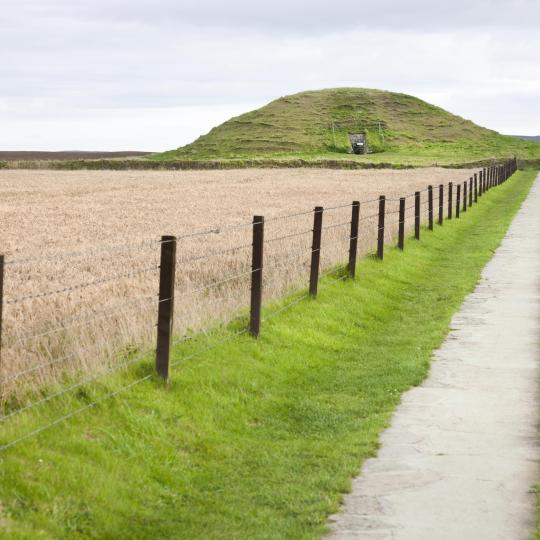Orkney's ancient Maeshowe