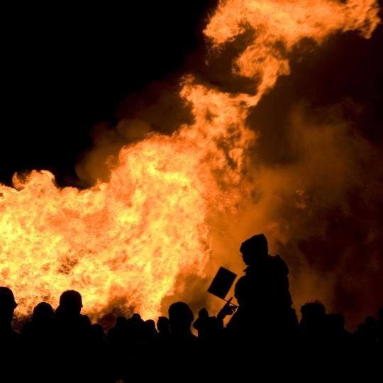 The UK's largest Bonfire Night