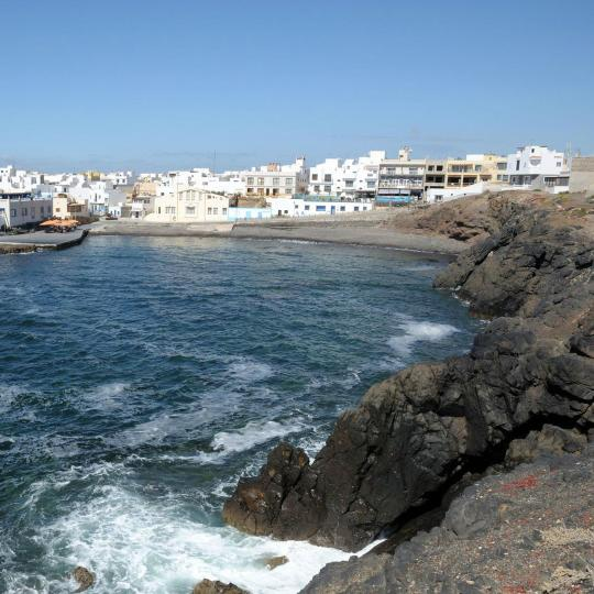 Fishing town of El Cotillo
