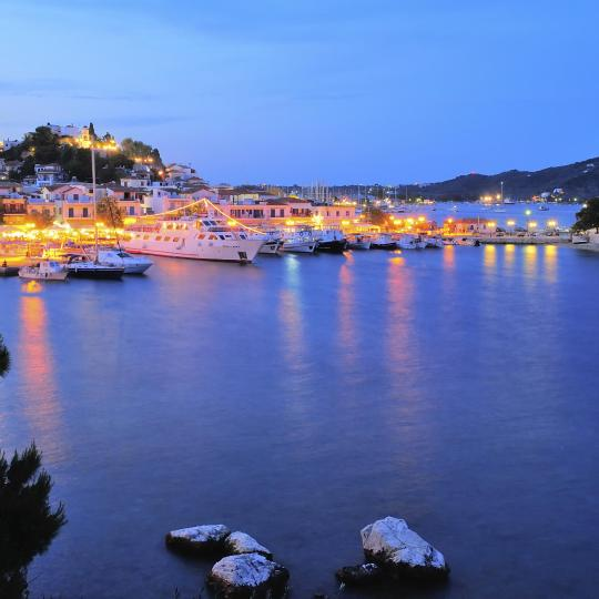 Nightlife in Skiathos Town