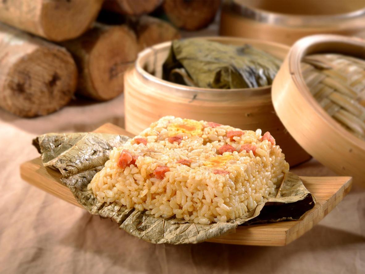 香港ちまきはどこにでも売られている人気商品。