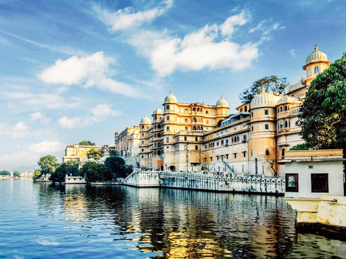 Udaipur City Palace and Lake Pichola