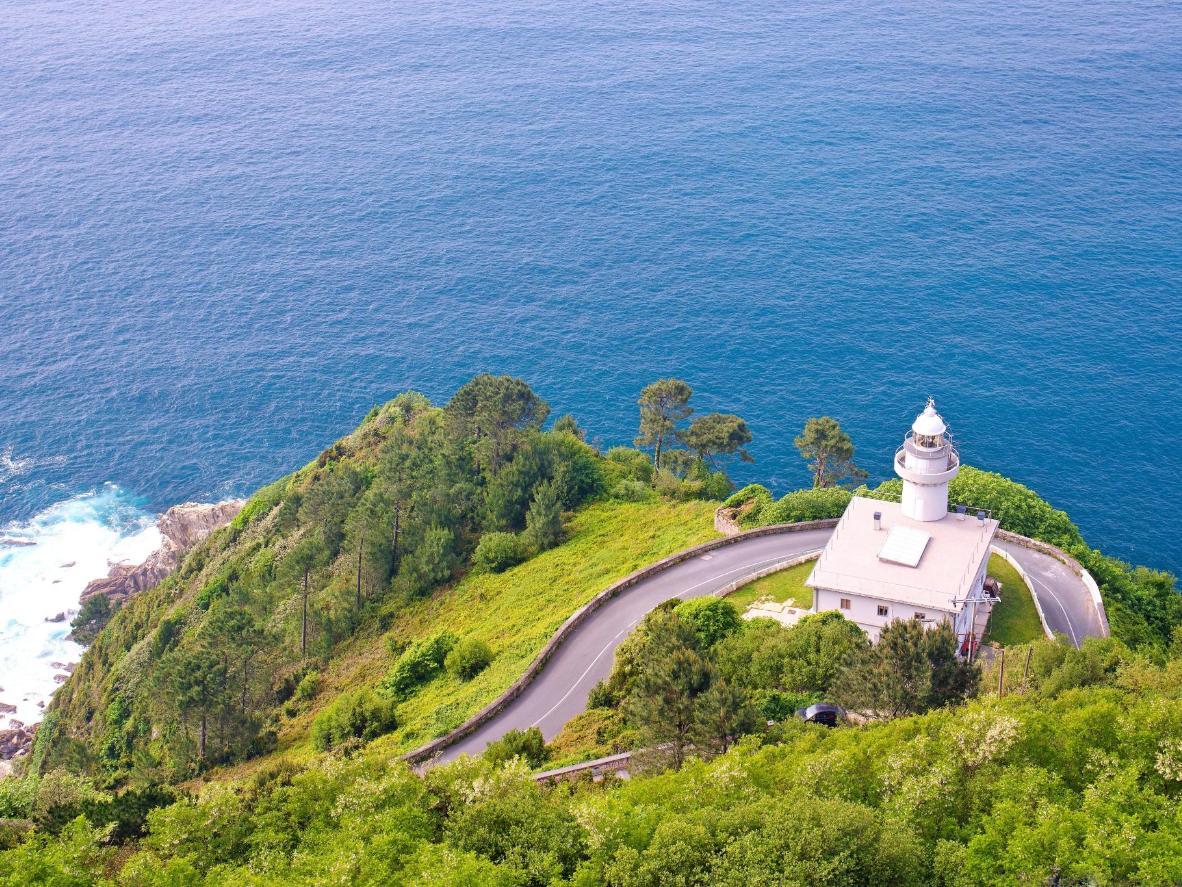 The beautiful Basque coastline, Spain