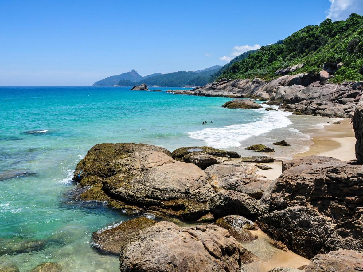 Ilha Grande's Lopez Mendes beach has won awards for its beauty