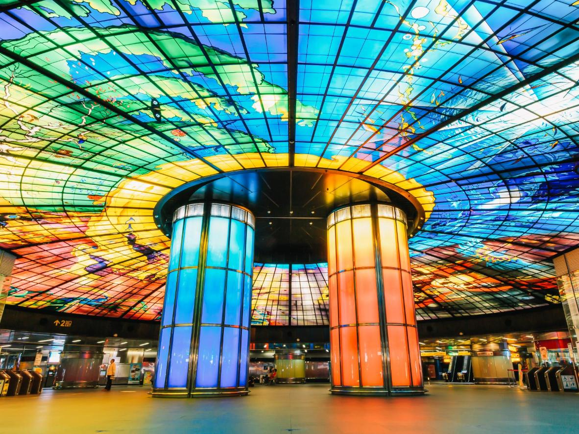 The Dome of Light in Taipei, Taiwan