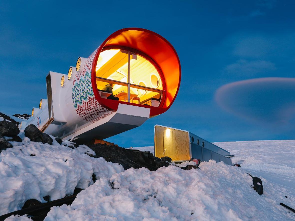 Boravite baš na planini u objektu LeapRus Capsule Hotel