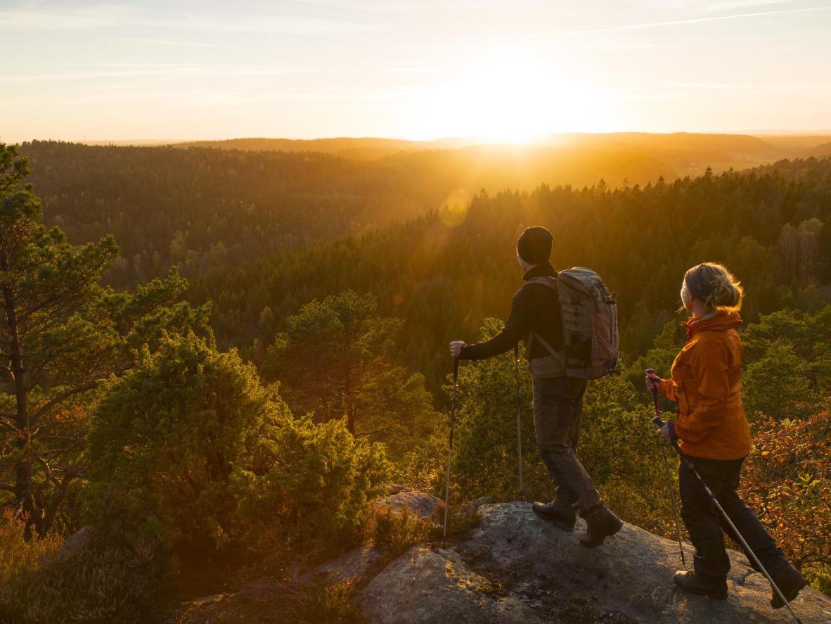世界有数のロマンチックな自然を誇るスウェーデン
