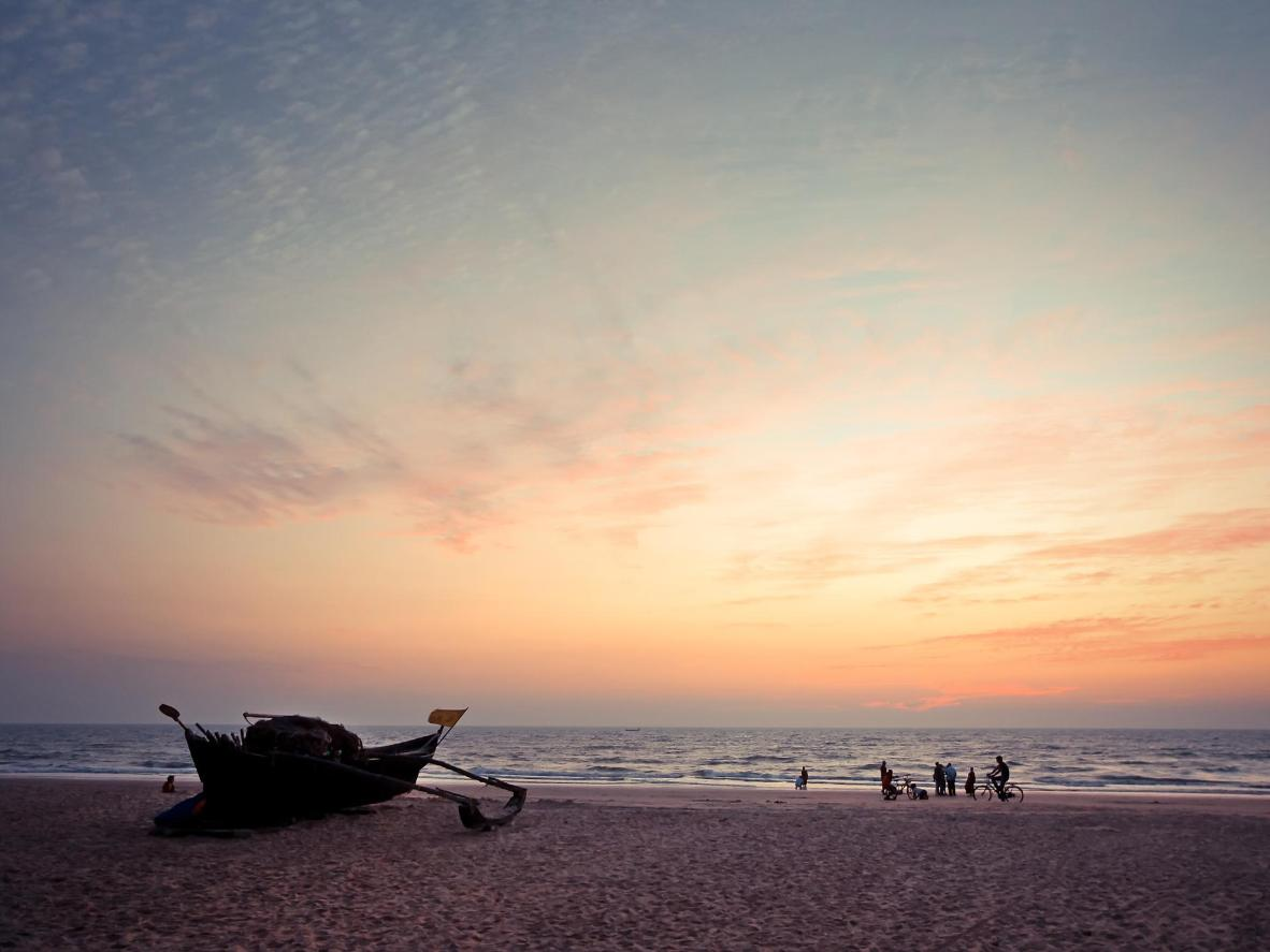 Varca egy hagyományos dél-indiai halászfalu