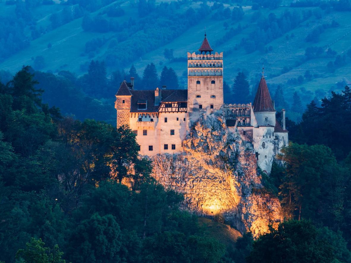 Bran Castle feels like a vampire's home