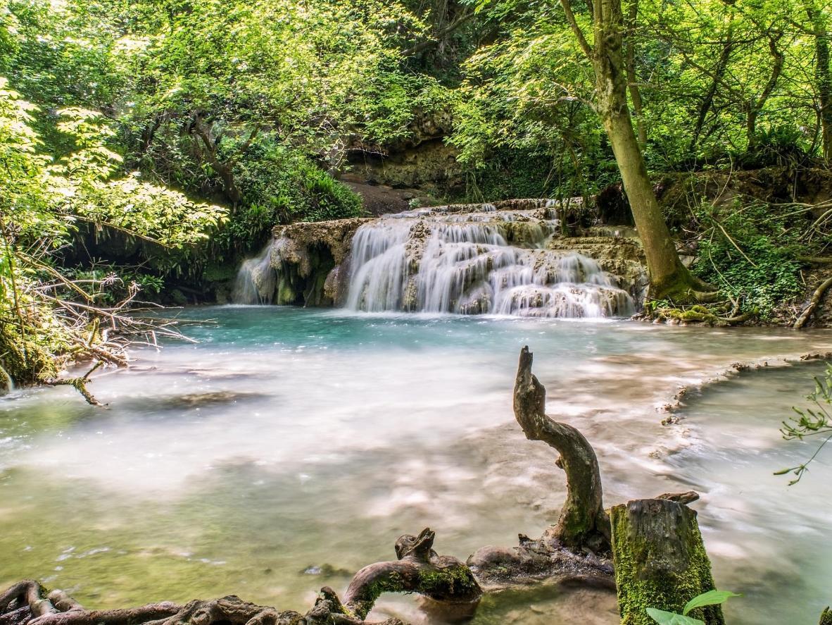 The ethereally peaceful Krushuna Falls