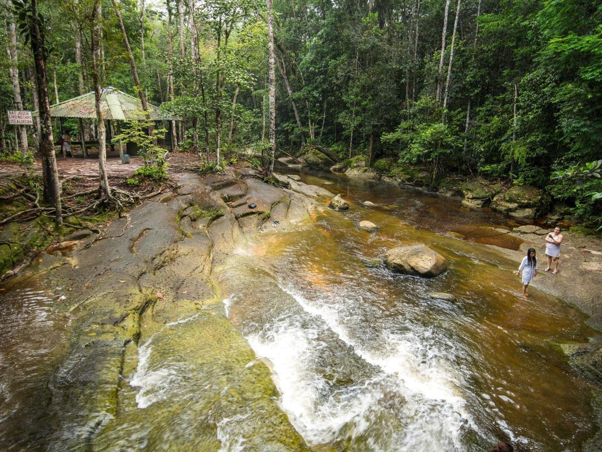 The 'Terra de Cachoeiras' (Land of Waterfalls) in Brazil