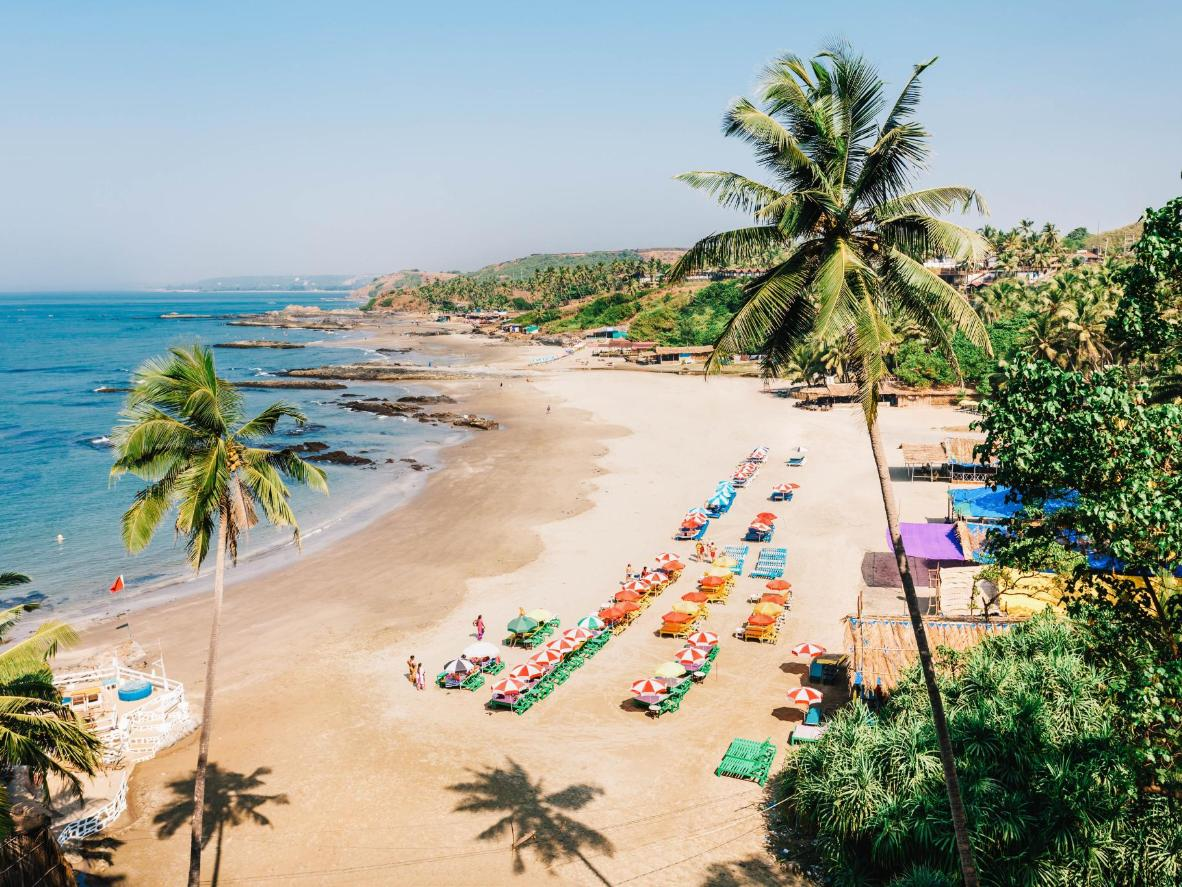 Goa's beaches guarantee great weather and low prices in January