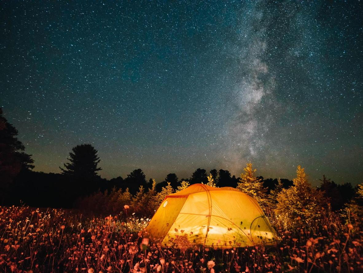 The park's Astronomy Field offers 360-degree views