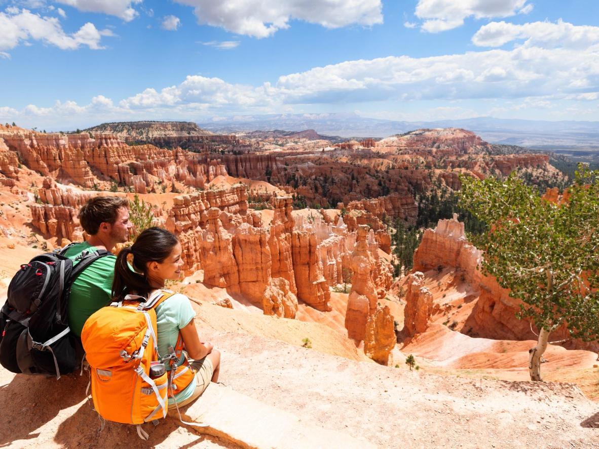 Mendaki Bryce Canyon