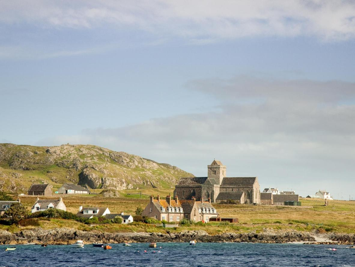 Iona Abbey, one of the oldest and most important religious centres in Western Europe