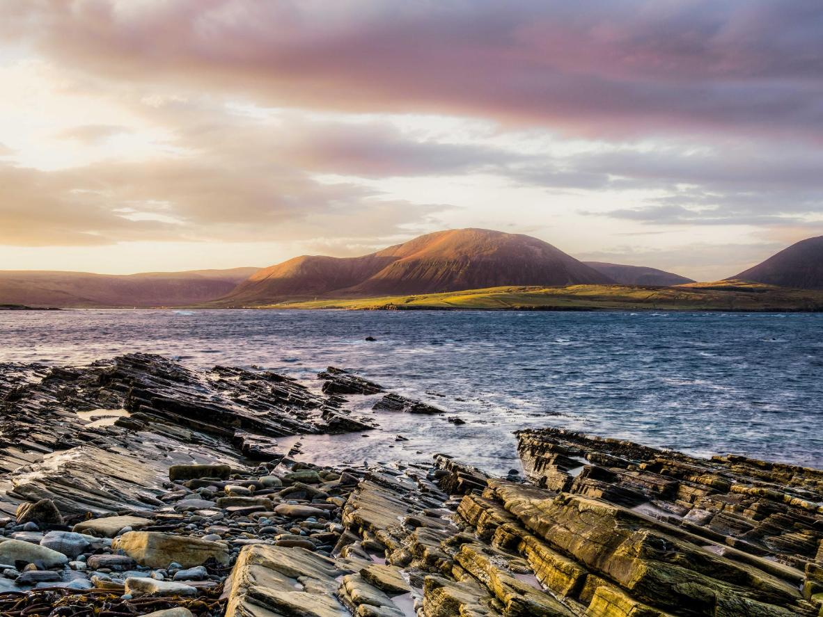 Explore WWI shipwrecks and prehistoric sites on the naturally beautiful Orkney Islands
