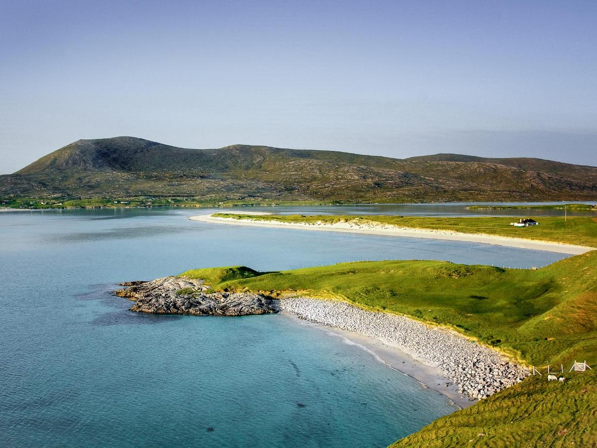 The Caribbean-esque beaches of the Isle of Lewis