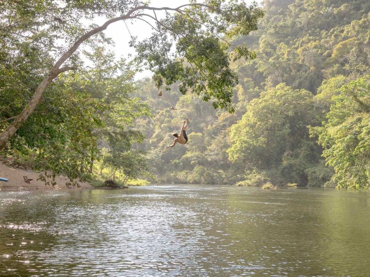 Caves, cascading rivers and peaceful rainforest lakes await in San Ignacio