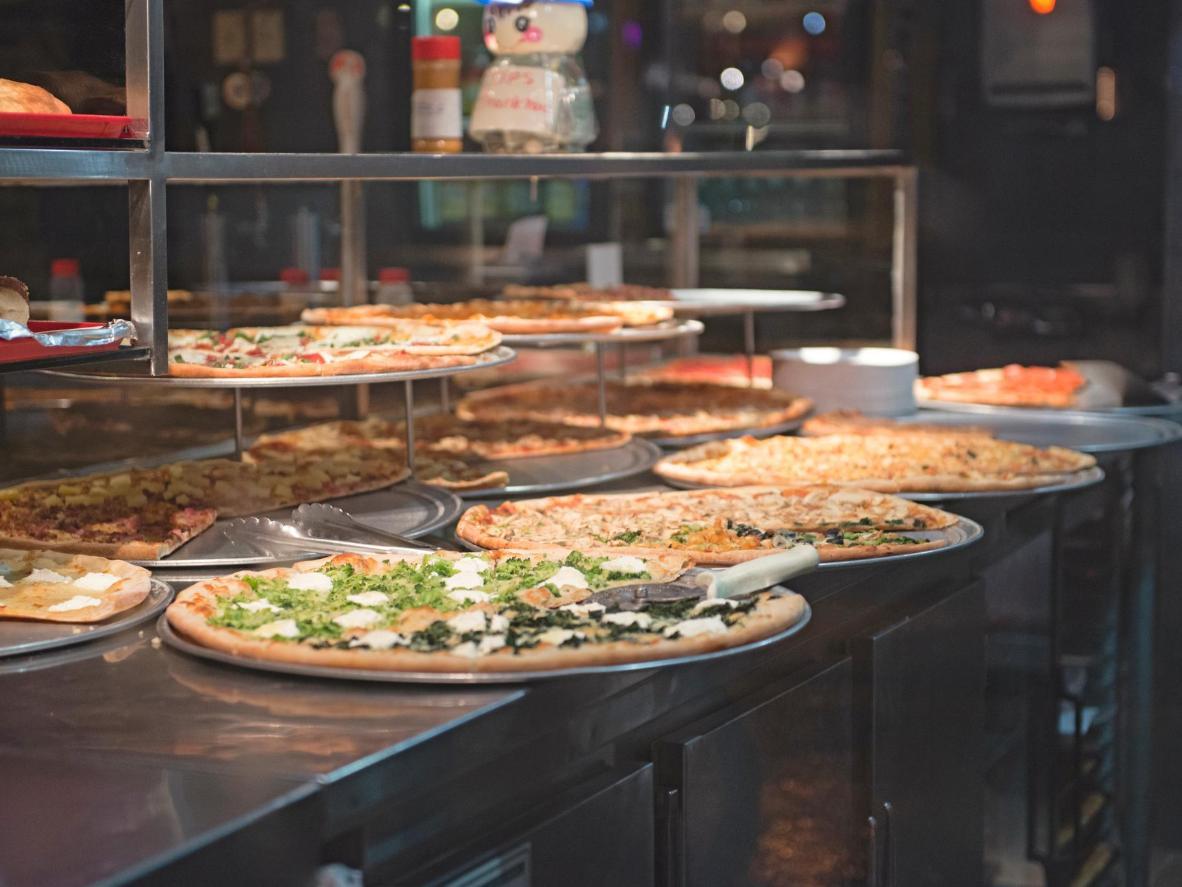 Kada se radi o pizzi, ova će vam četvrt ponuditi brojne opcije