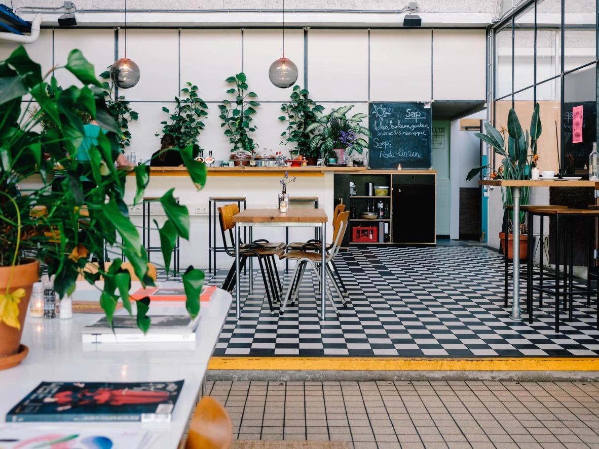 De Baarsjes is home to one of Amsterdam's most popular nightclubs (and restaurants), De School. Photo: Sarah van Rij