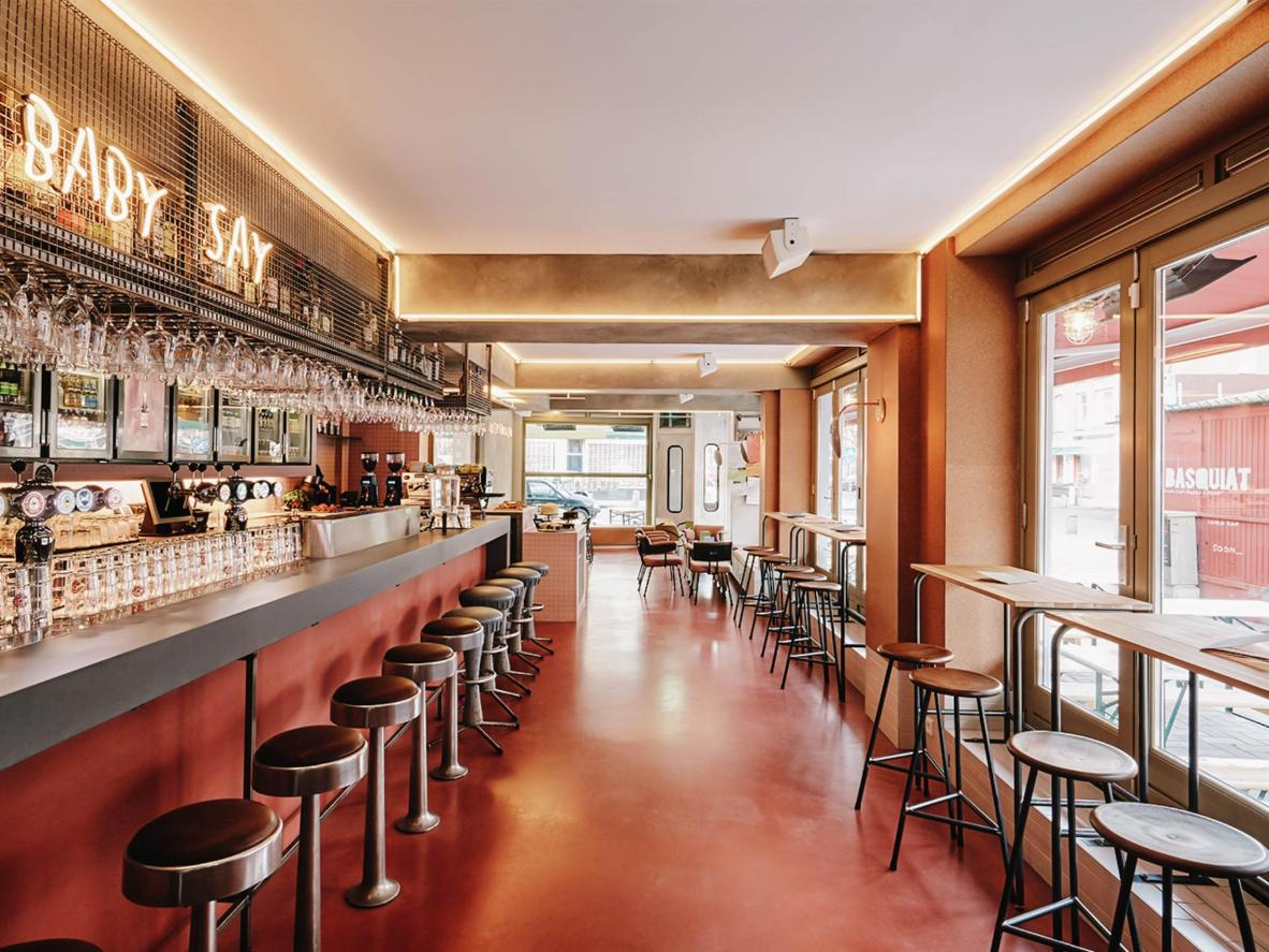 The Oost neighbourhood is filled with bars and brunch spots, including Bar Basquiat