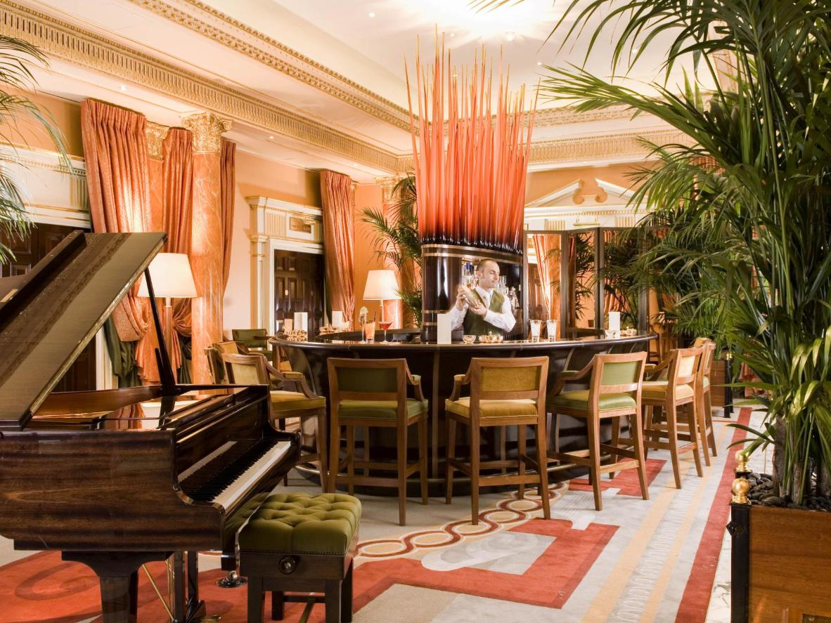 Make like the Kardashians and have afternoon tea at the Dorchester
