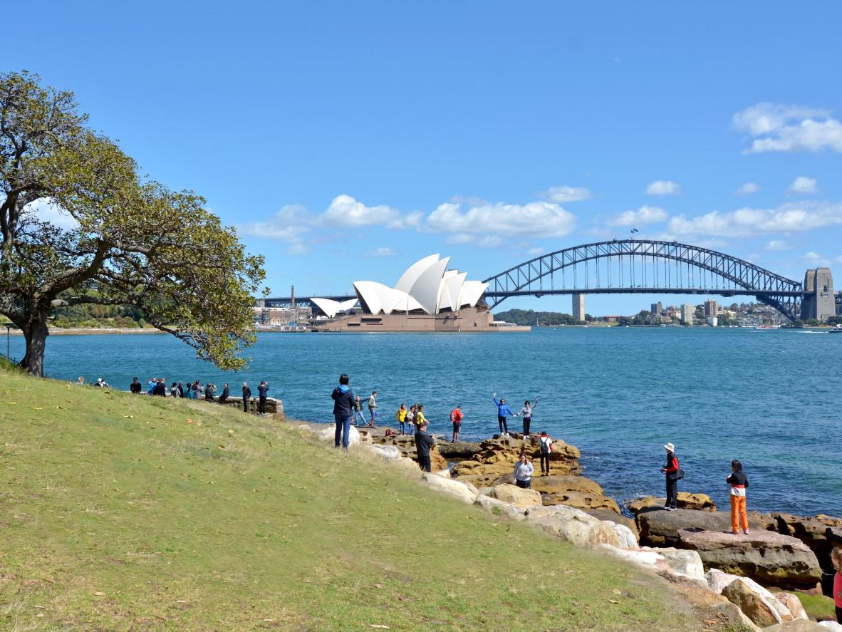 Two of Sydney's iconic landmarks