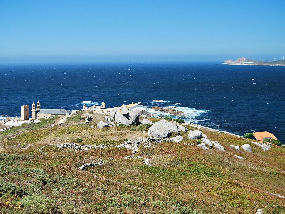 Muxia rannik on traditsiooniline palverännutee