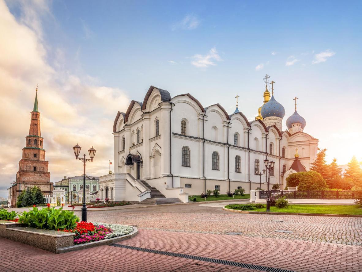 The Söyembikä Tower and the Kazan Kremlin