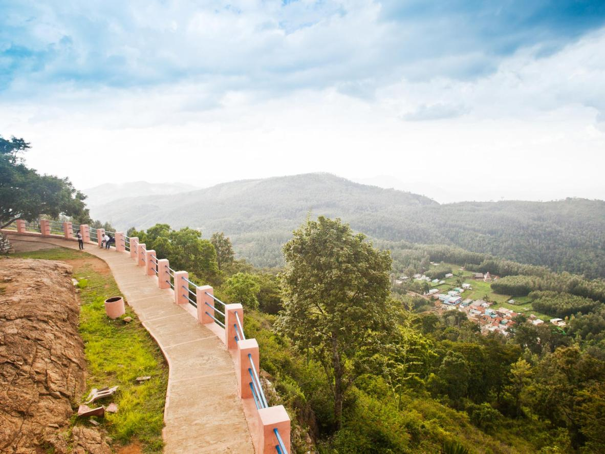 Trek through verdant forest in the Eastern Ghats and enjoy sublime views