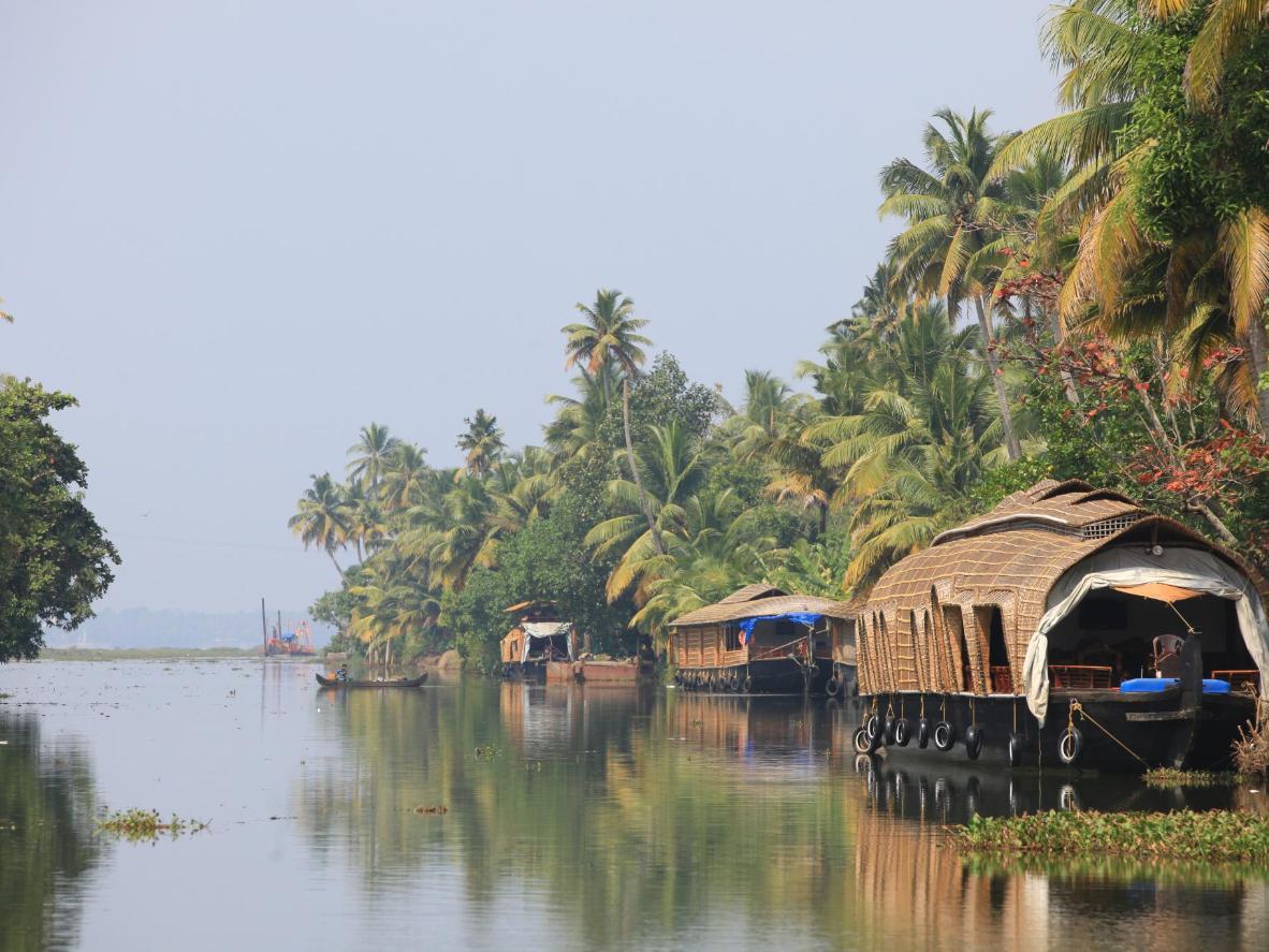 Go on a cruise of Kerala's heavenly tropical backwaters