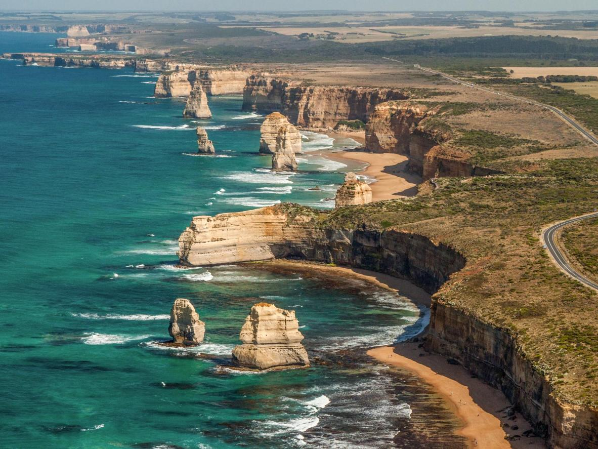 The sight of the Twelve Apostles is the main draw of the Great Ocean Road