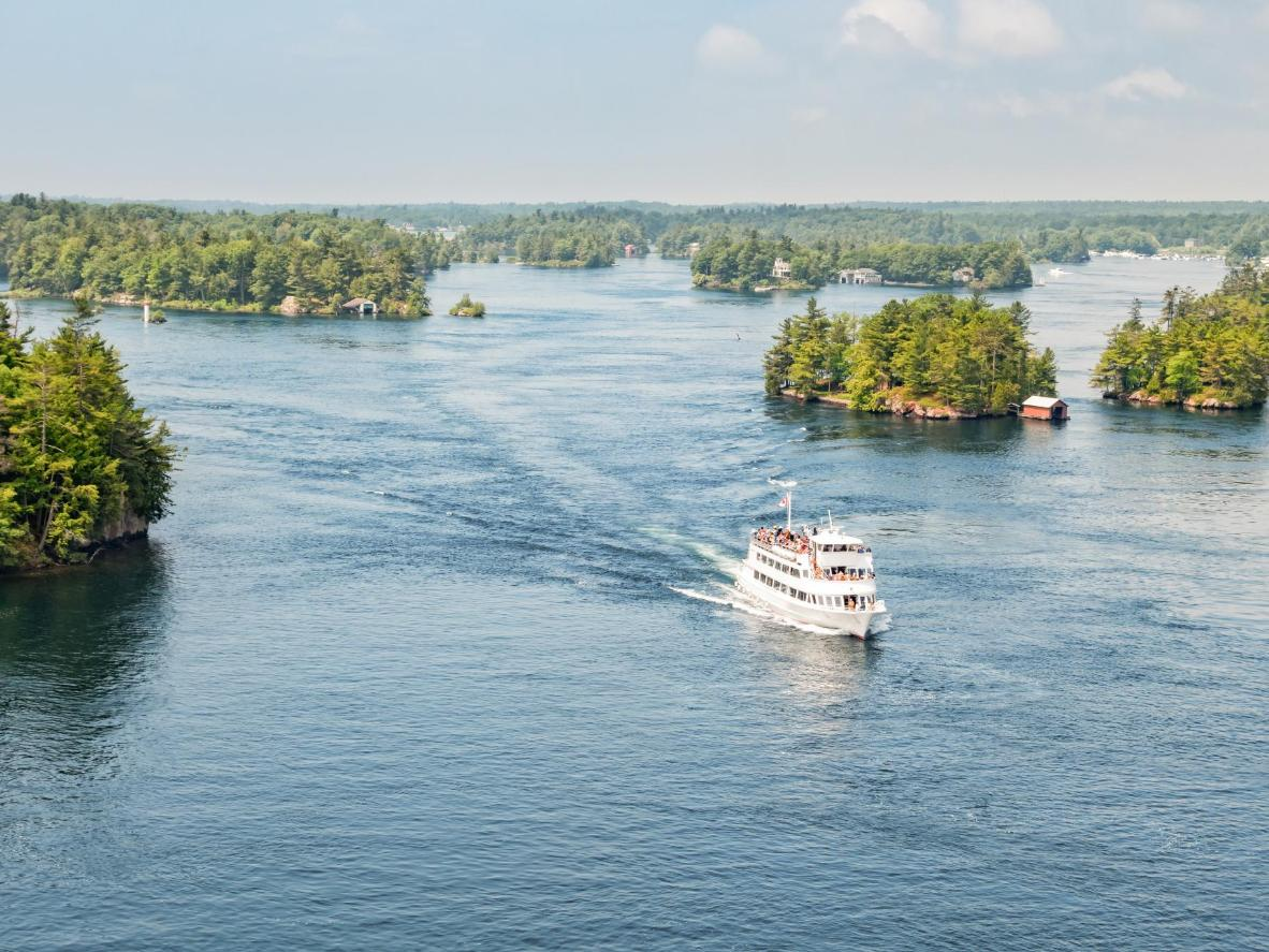 Try counting the Thousand Islands as you ferry past them