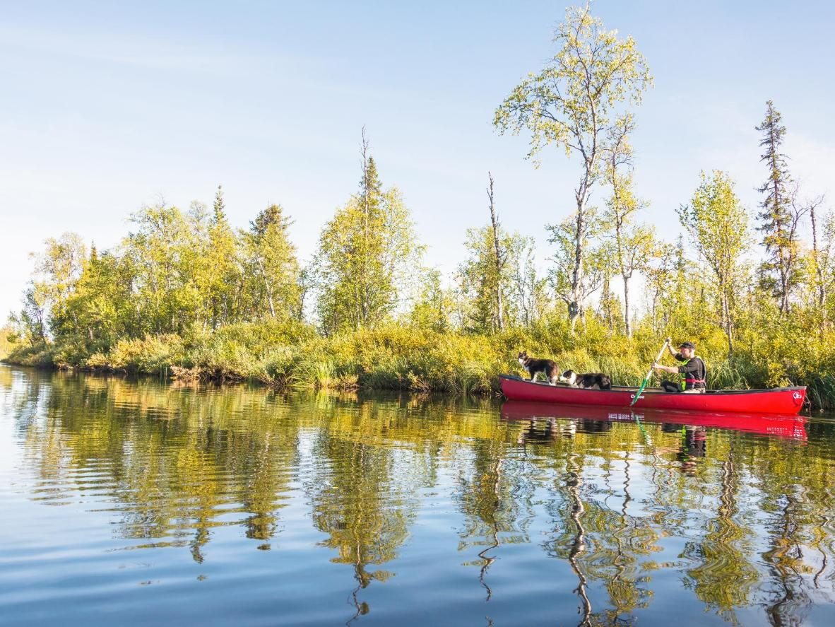 Udforsk områdets mange søer