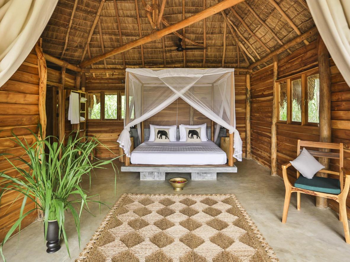Prenez vos aises dans votre bungalow privatif