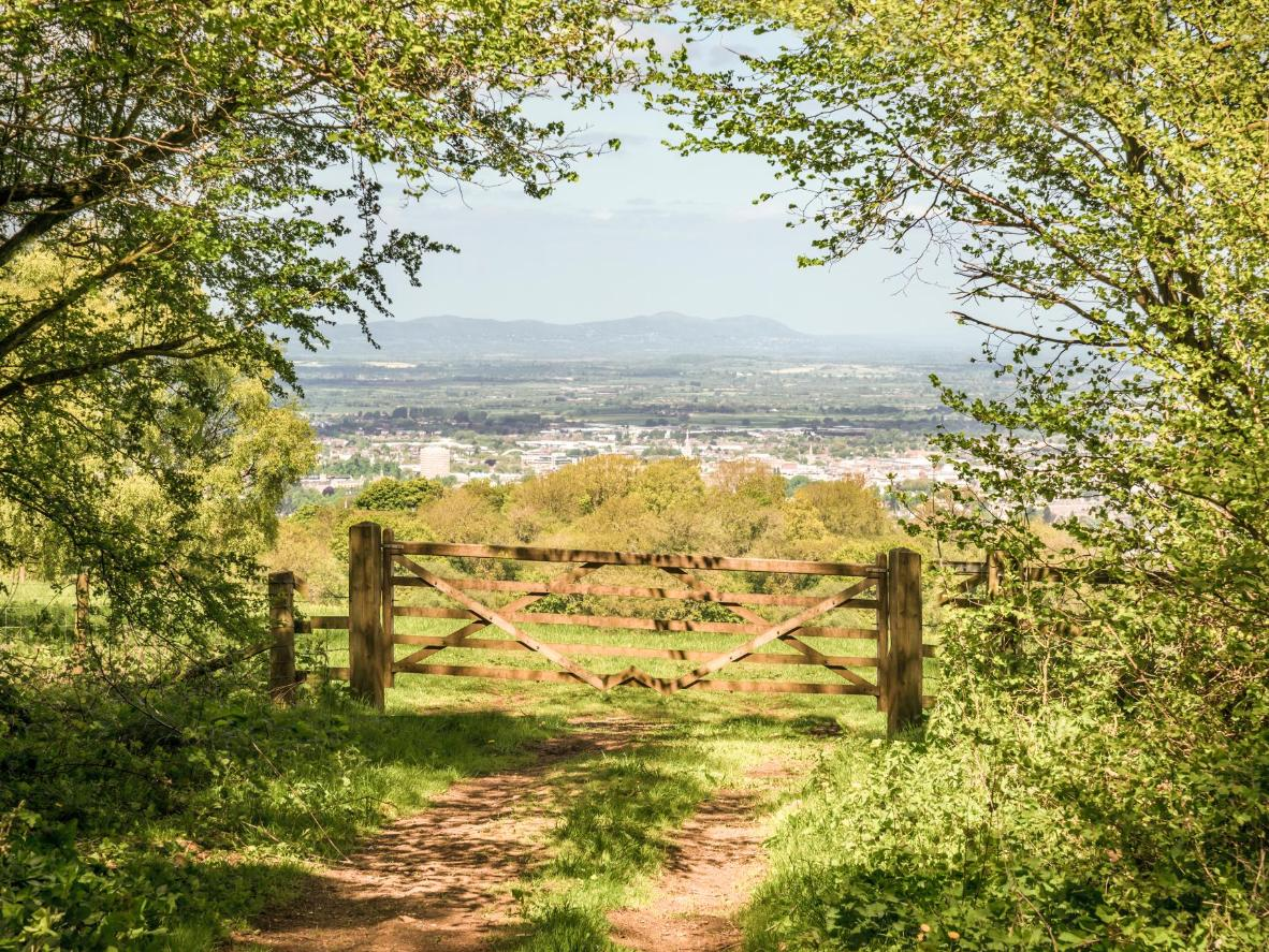 Follow the Cotswold Way National Trail through sheep-filled meadows and honey-coloured stone villages