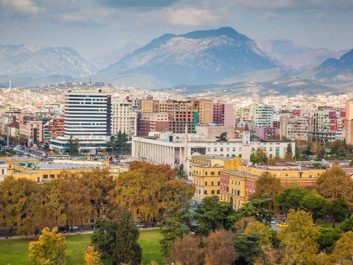 Tirana is making moves to become a truly kaleidoscopic city