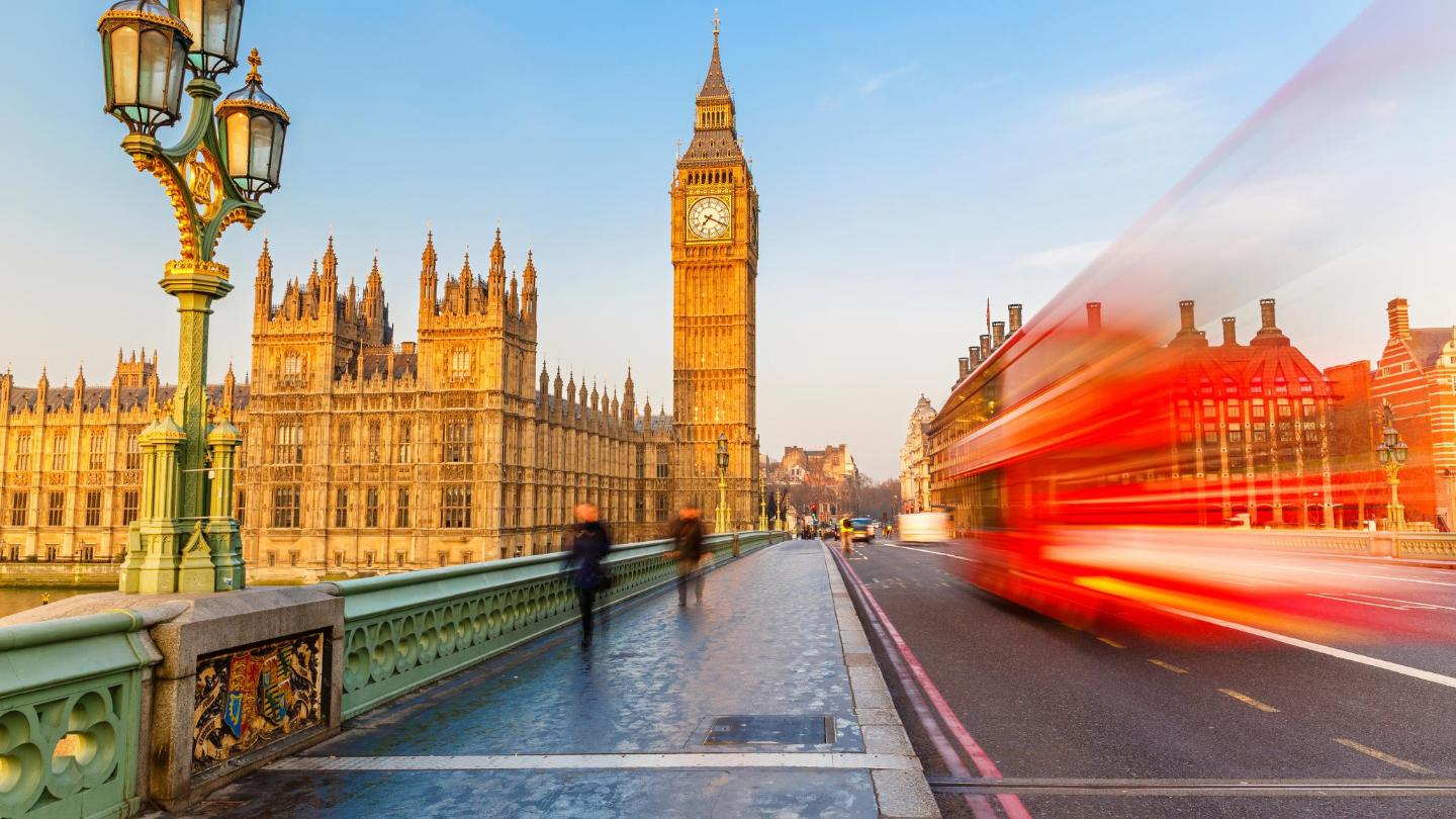 Spring is the best time to take in London's iconic sights