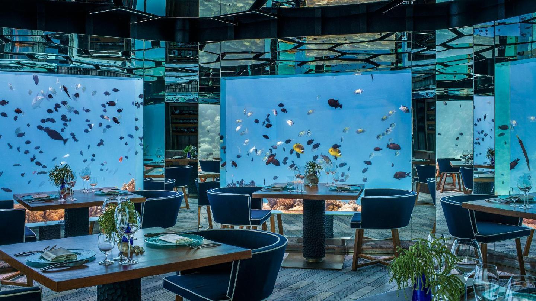 Speisen Sie im Unterwasserrestaurant des Hotels – Sea