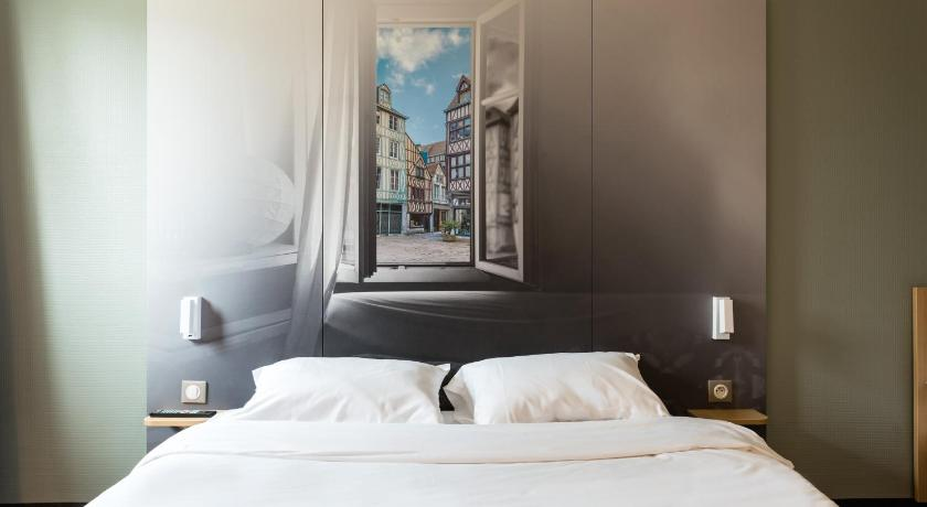 Vue de la chambre d'hôtel