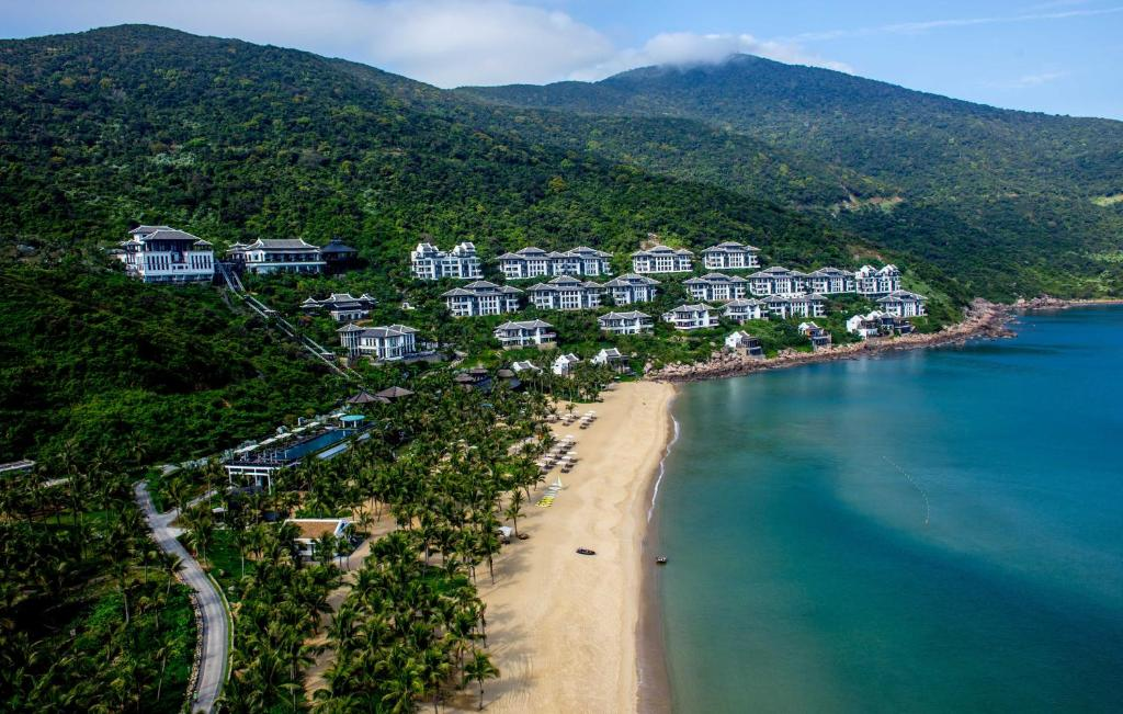 A bird's-eye view of InterContinental Danang Sun Peninsula Resort