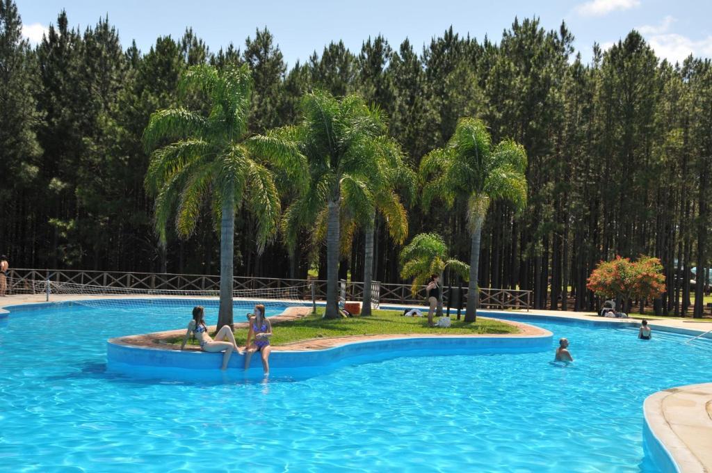 The swimming pool at or near Gran Hotel Uruguay