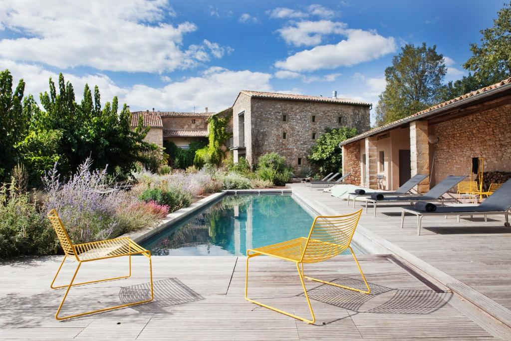 The swimming pool at or near La Maison d'Ulysse Small Luxury Hotel