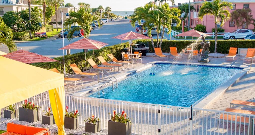 The swimming pool at or near St. Pete Beach Suites