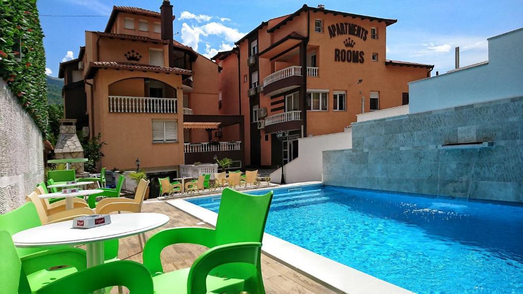 The swimming pool at or close to Hotel Villa Nadin