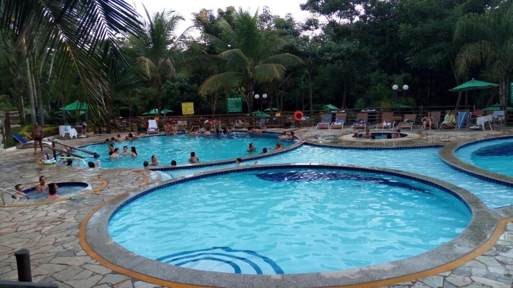 The swimming pool at or near Rio Quente Thermas Paradise