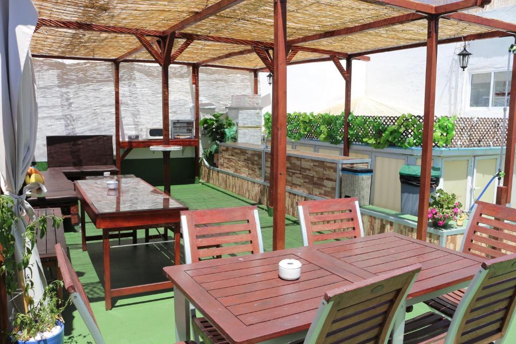 Um restaurante ou outro lugar para comer em Summer Cádiz