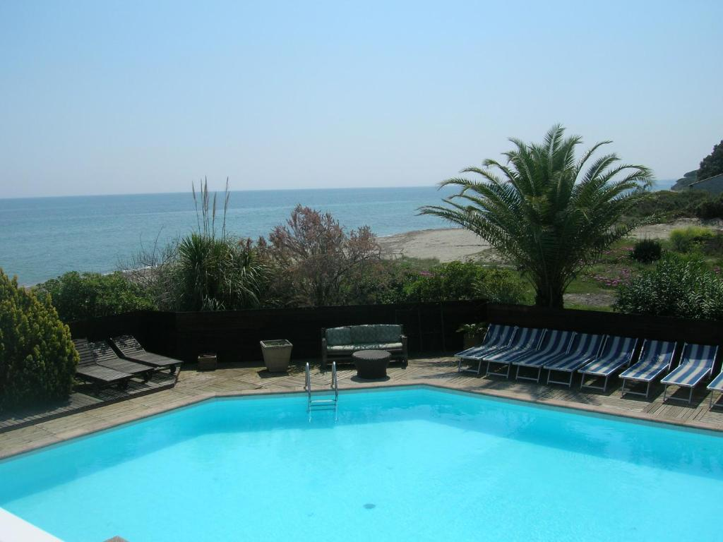 The swimming pool at or near Levolle Marine
