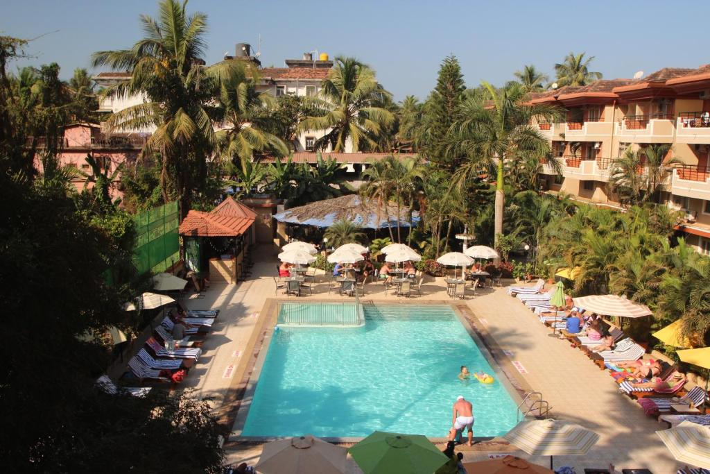 A view of the pool at So My Resorts or nearby